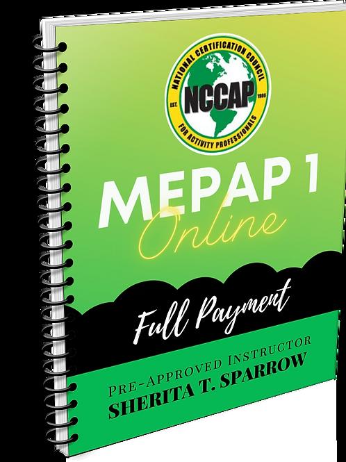 MEPAP 1 FULL Payment