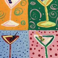 Martini - Andy Warhol Inspired
