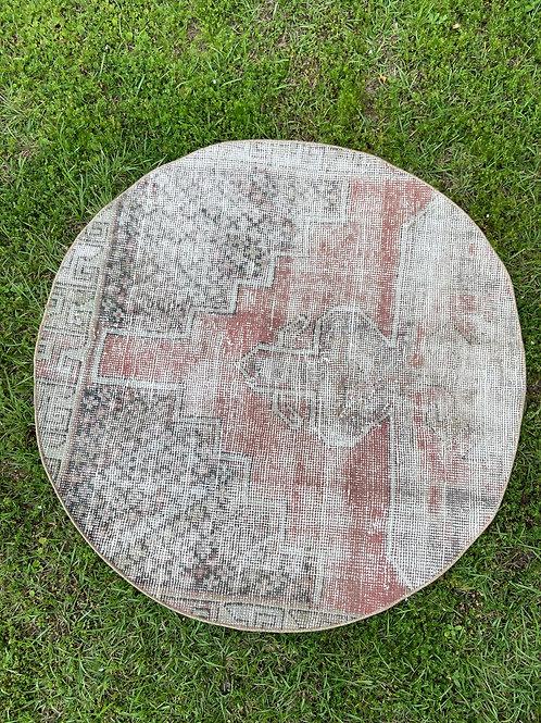 Lyon Vintage Rug 3.6' x 3.6'
