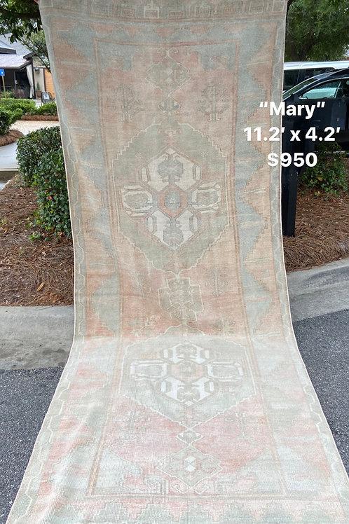 Mary Vintage Rug 11' x 4'