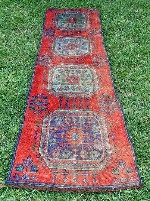 Genevieve 2.4 x 7 Vintage Rug