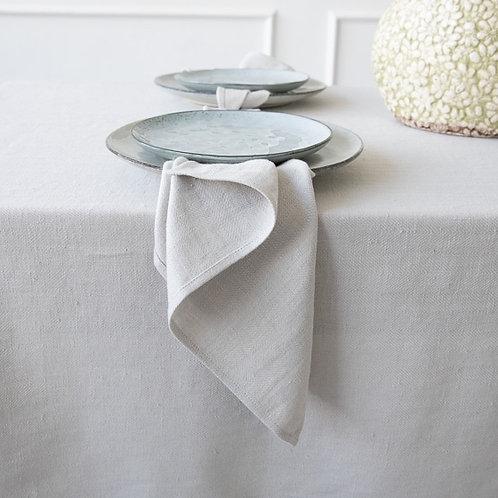 Silver Linen Napkin