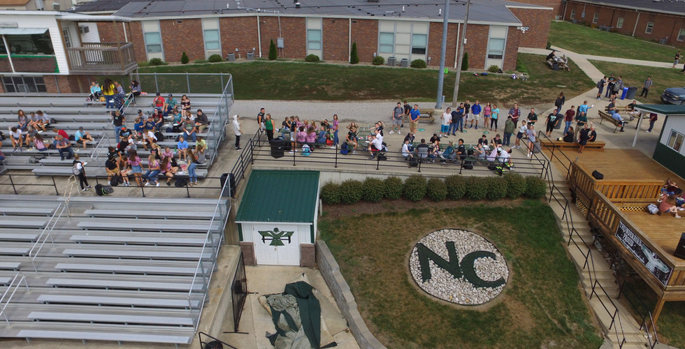 NCHS Stands