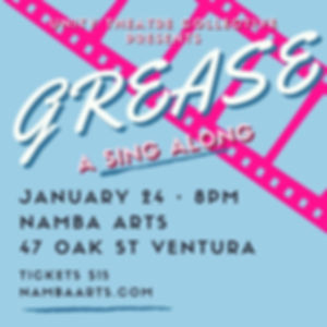 Grease Sing Along Flyer A (light) Instag