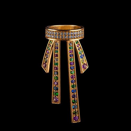 Ribbons Crown Ring