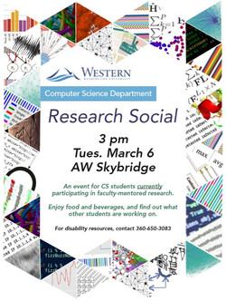 Research Social Flier