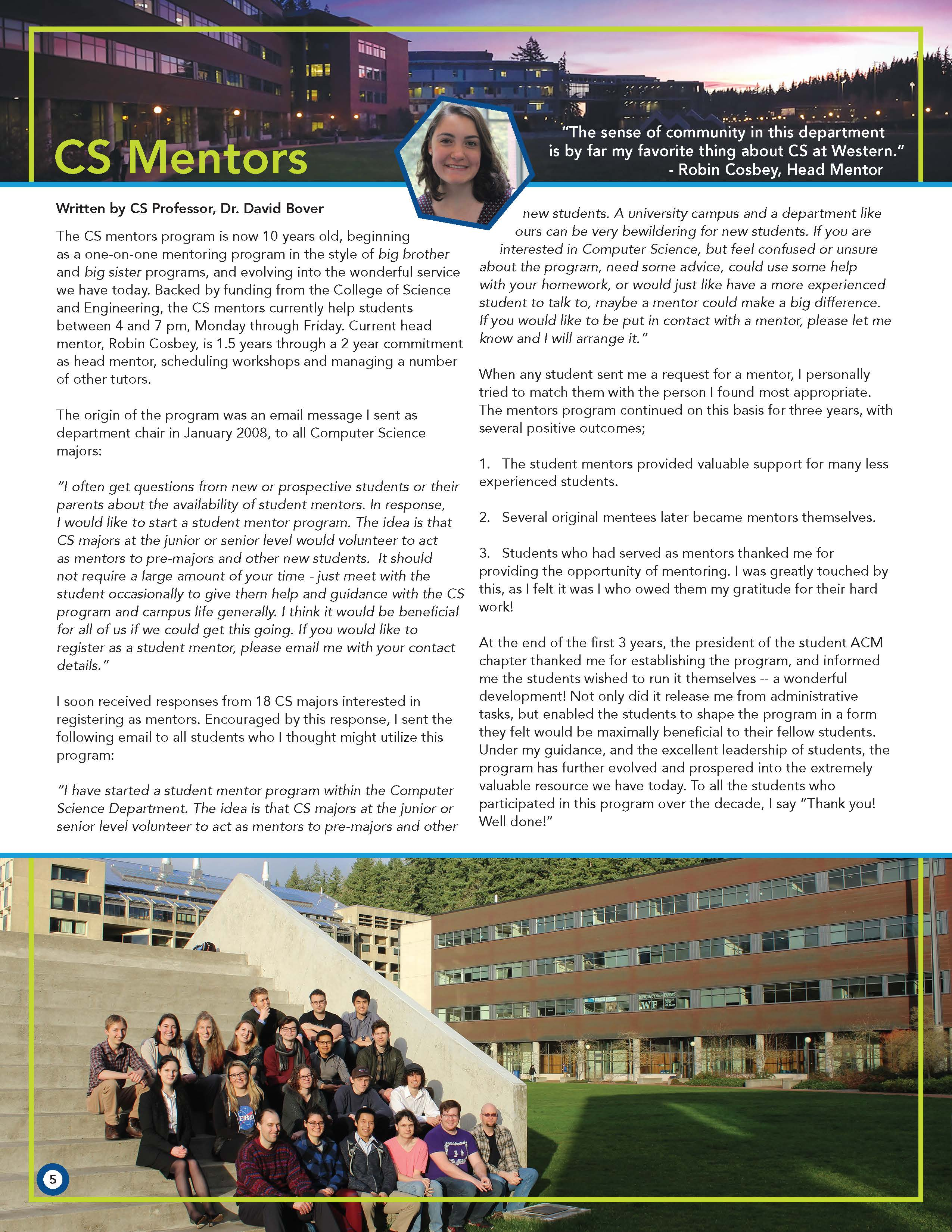 CS Newsletter 2018 Mentors Page