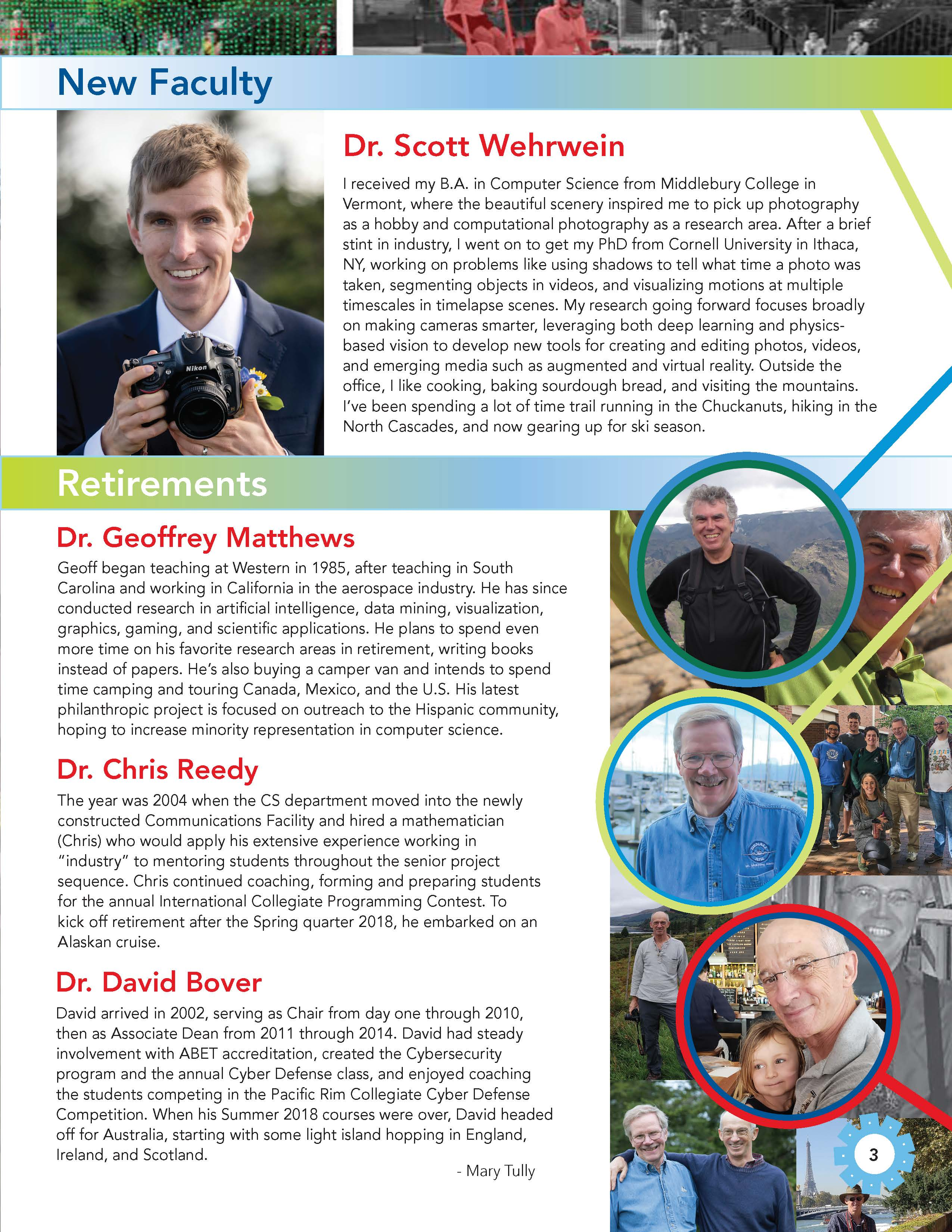CS Newsletter 2019 Page 2