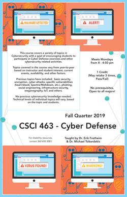Cyber Defense Flier