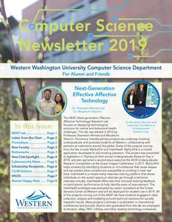 CS Newsletter 2019 Cover