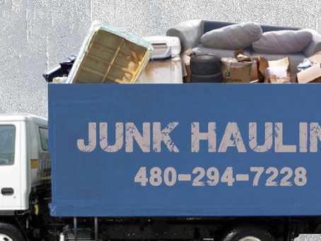 Affordable Junk Hauling in Glendale AZ by Experienced Professionals