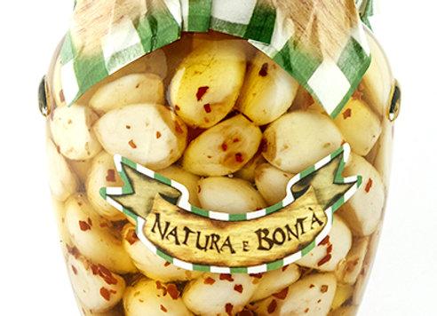 Aglio Marinato al Peperoncino - Marinated Garlic