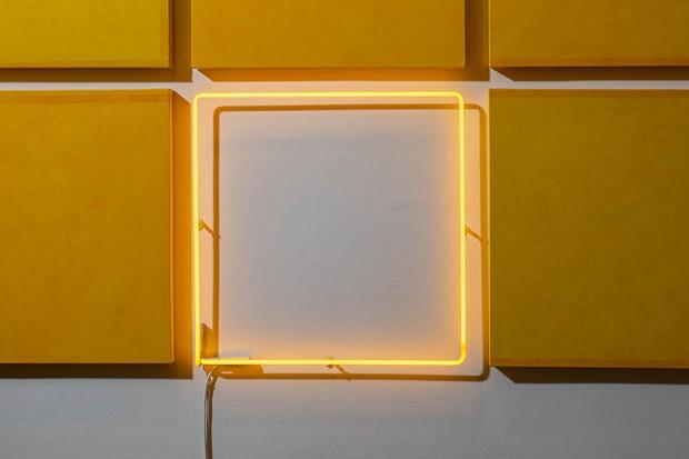 Flavo Lumine, Monocromo con intrusione, 2019, Detail