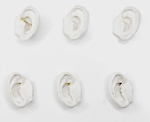Elisabeth Ida Mulyani_Ears_white fibergl