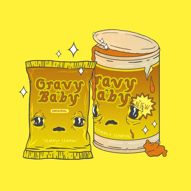 Mr. & Mrs. Gravy Baby