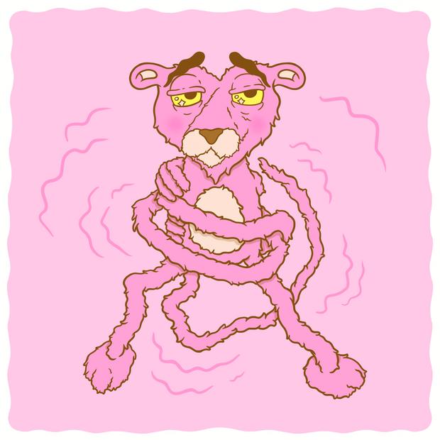 Dancing Myself Pink