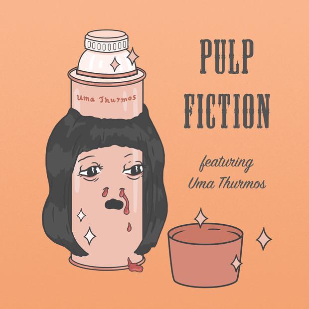 Uma Thurmos Pulp Fiction