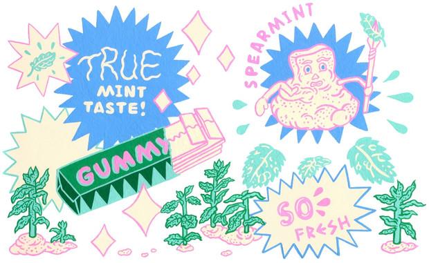 Gummy Spearmint