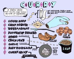 Crockpot Curry, 2/3