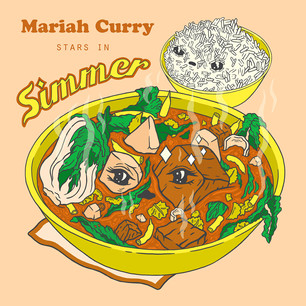 Mariah Curry Stars in Simmer