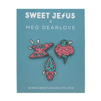 Sweet Jesus Pin & Pin Packaging Design
