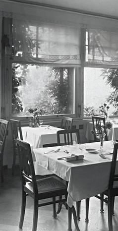 Speisesaal Altersheim Favorite 1930er Jahre