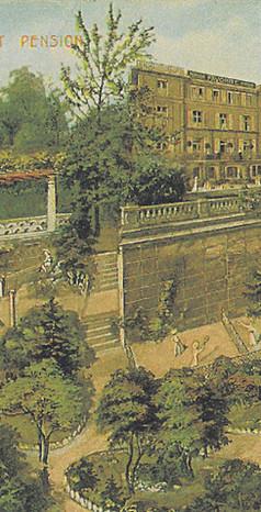 Werbepostkarte Kurbad um 1910