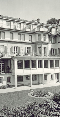 Altersheim favorite, 1935 letze bauliche Erweiterung