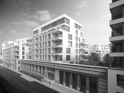 A2rc projects for Appart hotel uccle