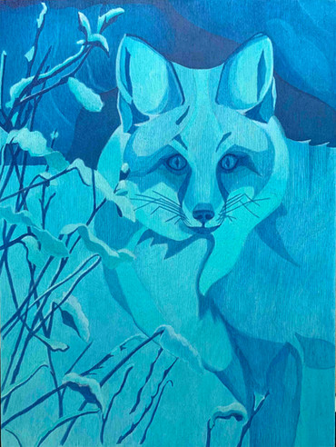 SOLD. Midnight Fox.