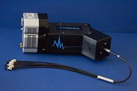 Photograph of a Raman spectrograph and Raman spectrometer