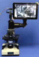 Picture of a Raman microscope
