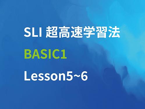 SLI超高速学習法Basic1 Lesson5~6