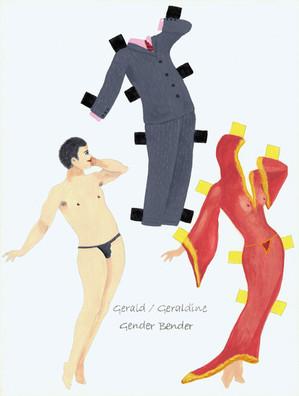 21st C Paper Dolls: Gender Bender