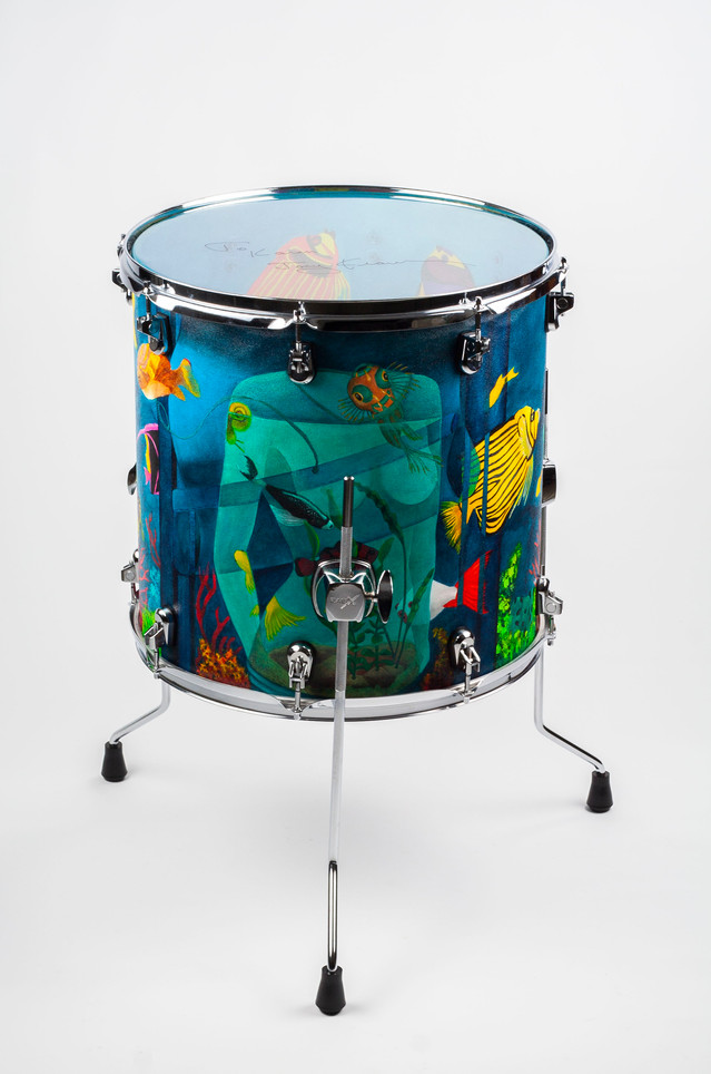 Ladies of the Ocean-Floor Tom-Front