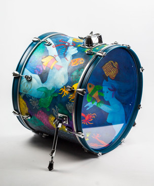 Ladies of the Ocean-Bass Drum-Left