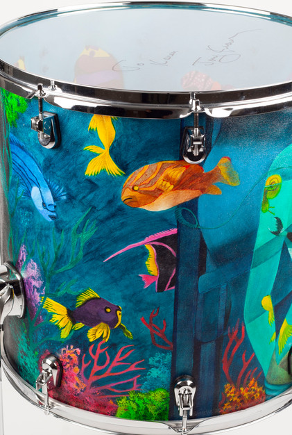Ladies of the Ocean-Floor Tom-Detail