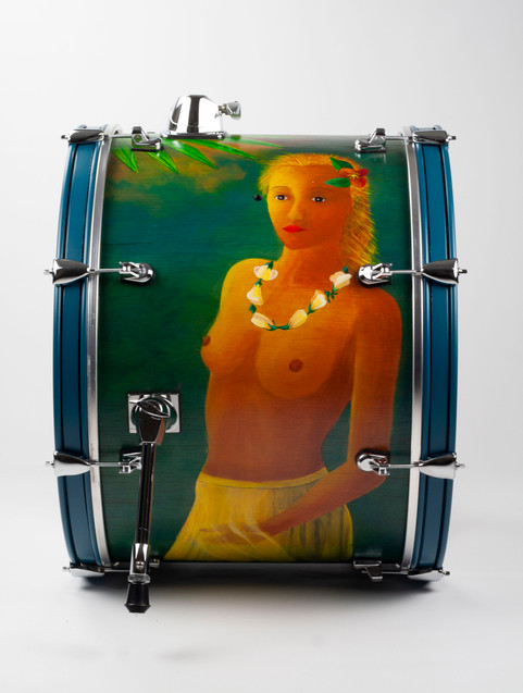 New American Beauty-Bass Drum-Right