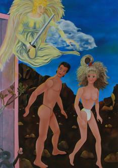 The Expulsion of Ken & Barbie from the Garden of Eden