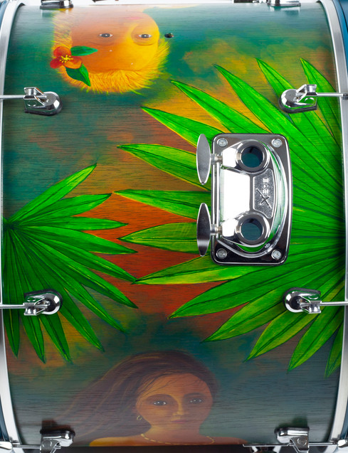 New American Beauty-Bass Drum-Top
