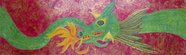 Chinese Dragon Series No. 3