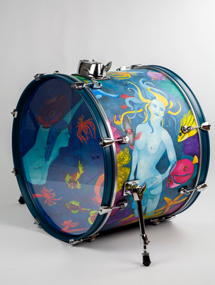 Ladies of the Ocean-Bass Drum-Right