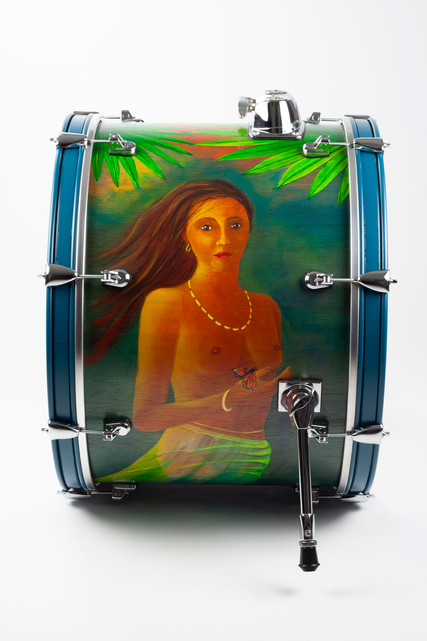New American Beauty-Bass Drum-Left