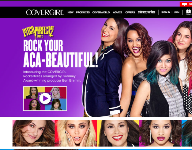 """Covergirl """"Pitch Perfect 2"""" Campaign"""