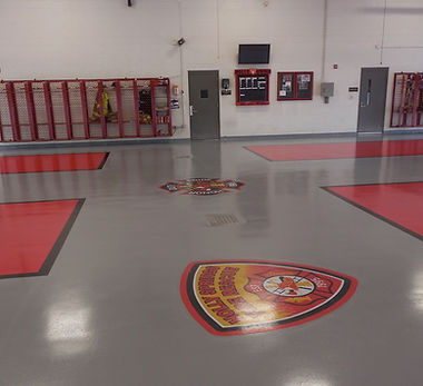Fire, Rescue and Public Safety Epoxy Floors