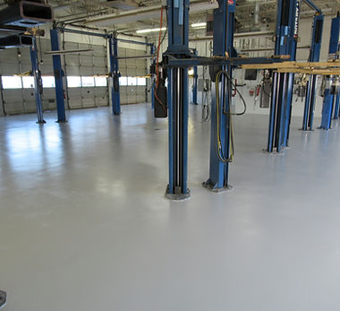 Automotive Epoxy Flooring