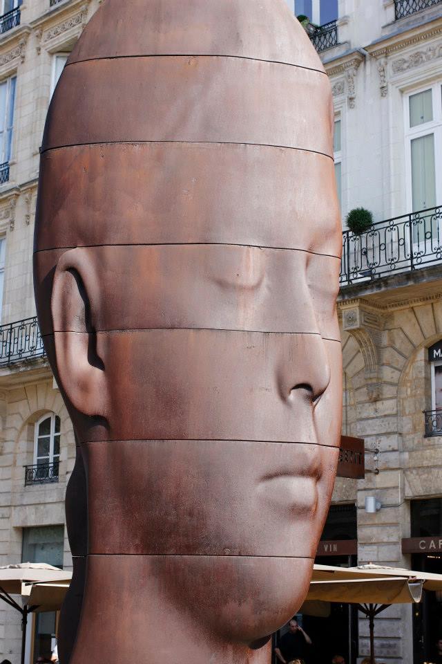 Jaume Plensa sculpture Bordeaux