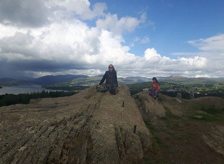 Scaling the heights of the Lake District