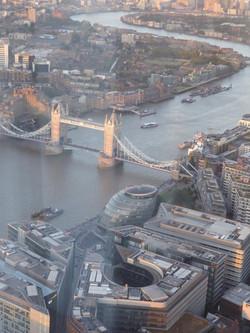 Tower Bridge seen from the Shard