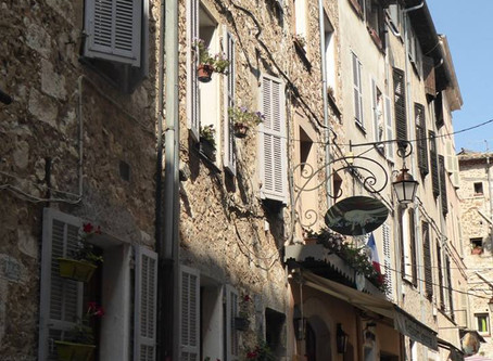 A romantic town in Provence